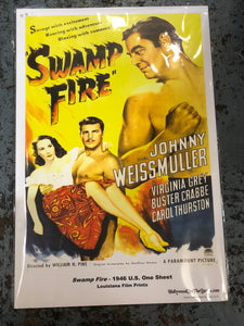 Swamp Fire Movie Poster