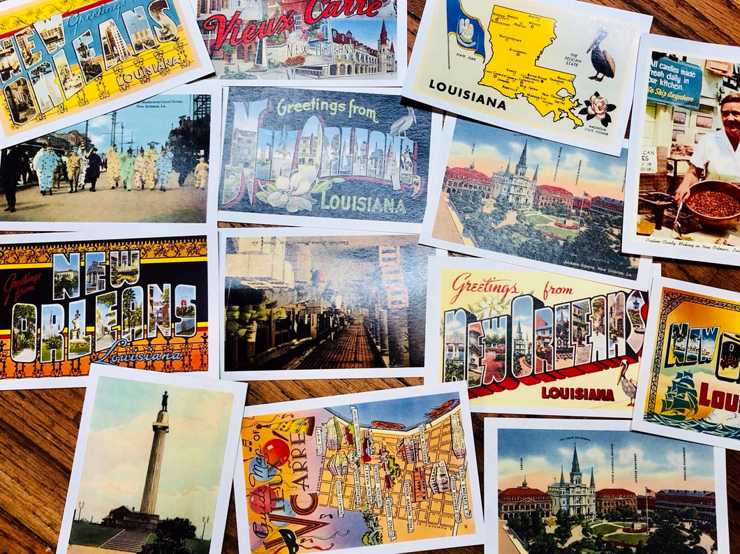 Vintage New Orleans Postcards