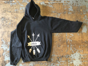 NOLA Triple Arrow, Pull-Over Hoodie, Ultra Soft, Unisex
