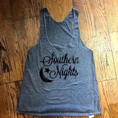 Southern Nights Flowy Tank