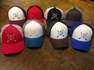 NOLA Arrow Baseball Hat
