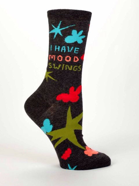 I Have Mood Swings,  W-Crew Socks