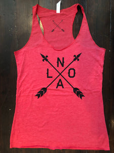 NOLA Arrow Racerback Tank Top