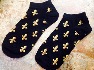New Orleans Fashion Socks, Ankle Legnth