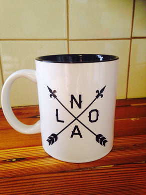 NOLA Arrow Mug
