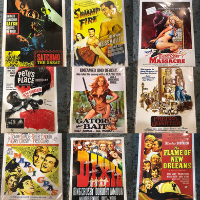 Vintage Louisiana Movie Posters