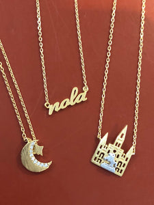 New Orleans Skyline Necklaces