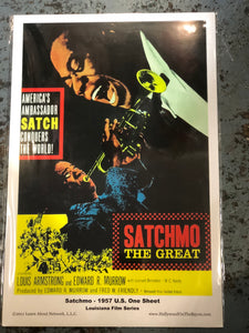 Louis Armstrong Movie Poster