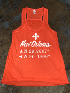 New Orleans Coordinates Tank