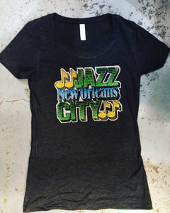 Vintage,New Orleans Jazz City Shirt- LIMITED SUPPLY
