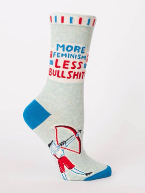 More Feminism Less Bullshit, W-Crew Socks