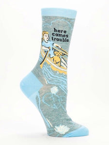 Here Comes Trouble, W-Crew Socks