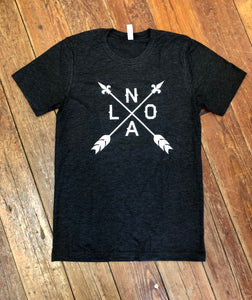 NOLA Arrow Black and White Shirt