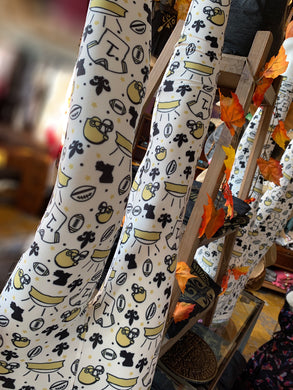 Saints themed legging  by Bienville Babes ! Super soft original legging!