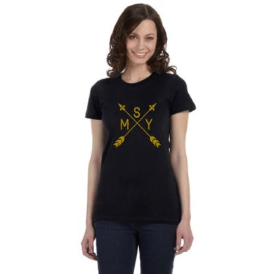 Point Me in the Direction of New Orleans, MSY Airport Code, Womens Shirt