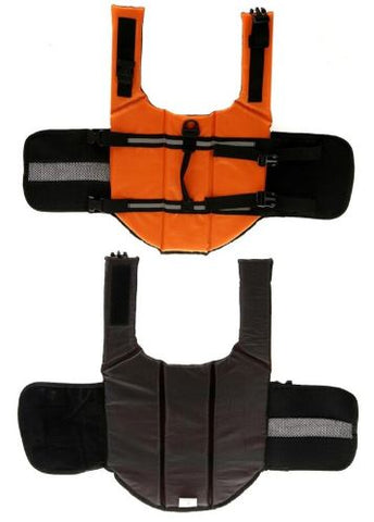 inside and out of life jacket