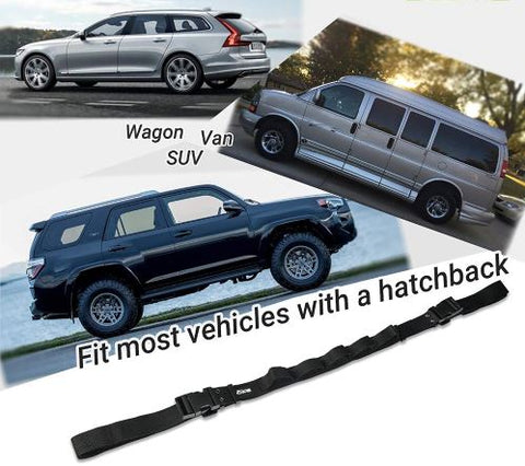 Car fishing rod holder, fishing rod straps, fishing pole racks, fishing pole car holder, Fishing rods in car