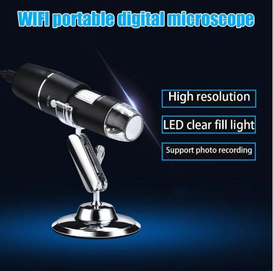 wifi digital portable microscope