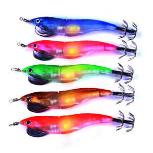LED Light Squid Jigs