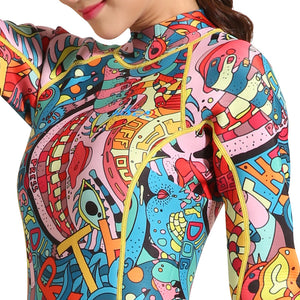 Colorful Artsy Wetsuit
