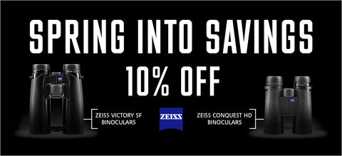 Zeiss Binoculars Spring into Savings Promotion