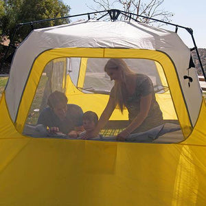 Shelter Basecamp Quick Pitch Tent | PahaQue 6 Person Tent