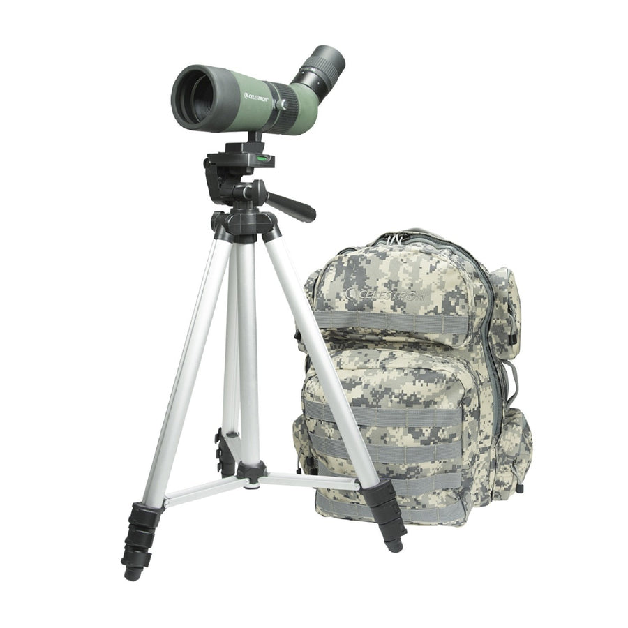Spotting Scope Celestron LandScout 10-30x50 Backpack/Tripod Kit-Olive Green