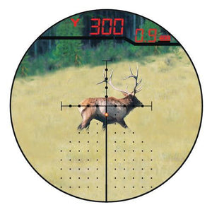 Rifle Scope Eliminator III 4x-16x-50mm