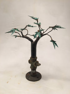 Free standing pipe tree