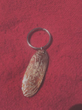 mokume gane key chain.