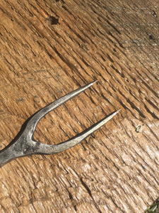 RailRoad Spike BBQ Fork