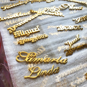 Customised Name Necklace - Miss Maliboo
