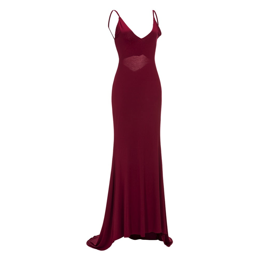 'Drop Red Gorgeous' Dress - Miss Maliboo