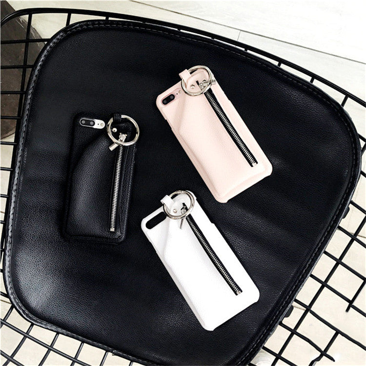 Keyring & Wallet Case - Black