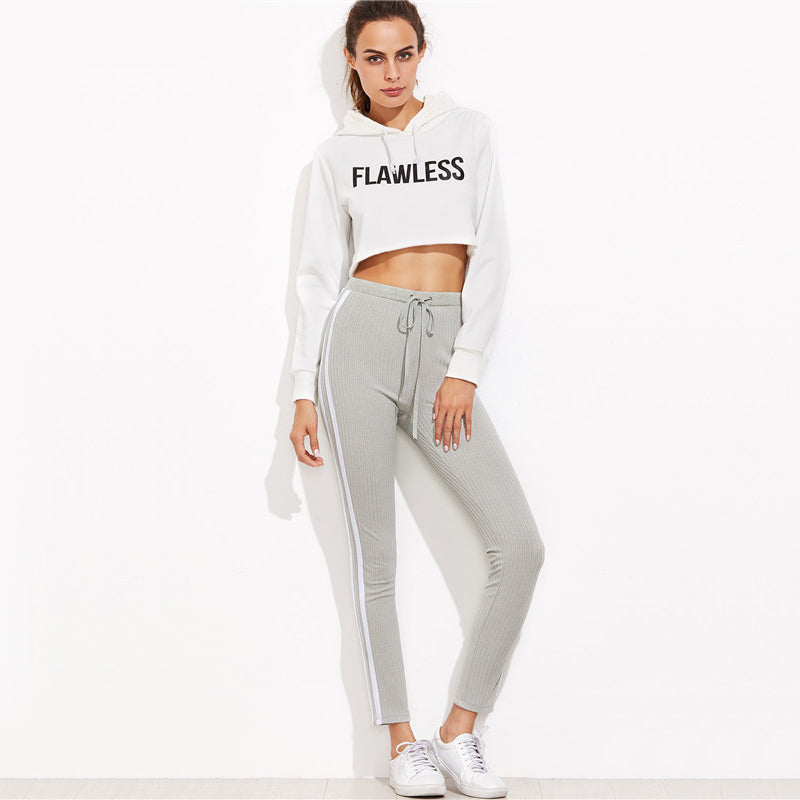 'Missy' Striped Sweatpants - Miss Maliboo