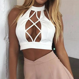 'Malibu' Criss Cross Top