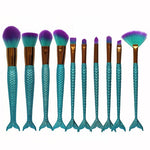 Mermaid Brushes - Turquoise - Miss Maliboo