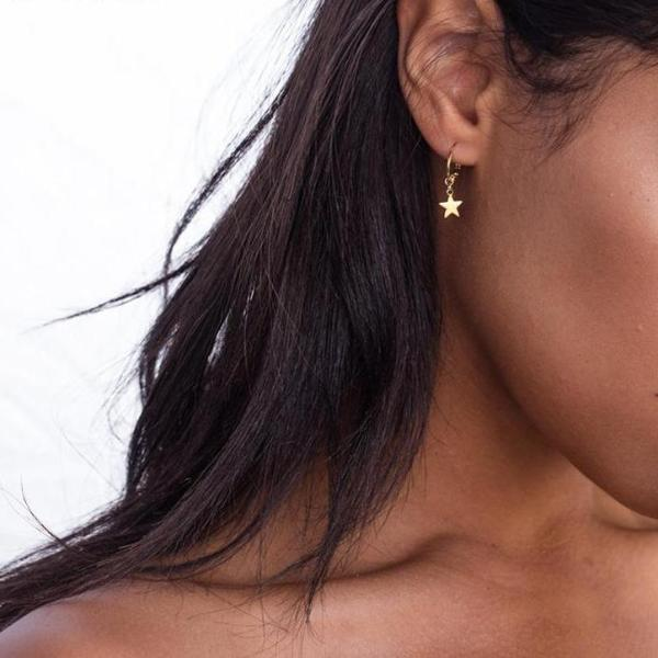 Star Hoop Earrings - Miss Maliboo