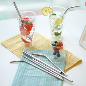 Reusable Stainless Steel Straws - Miss Maliboo