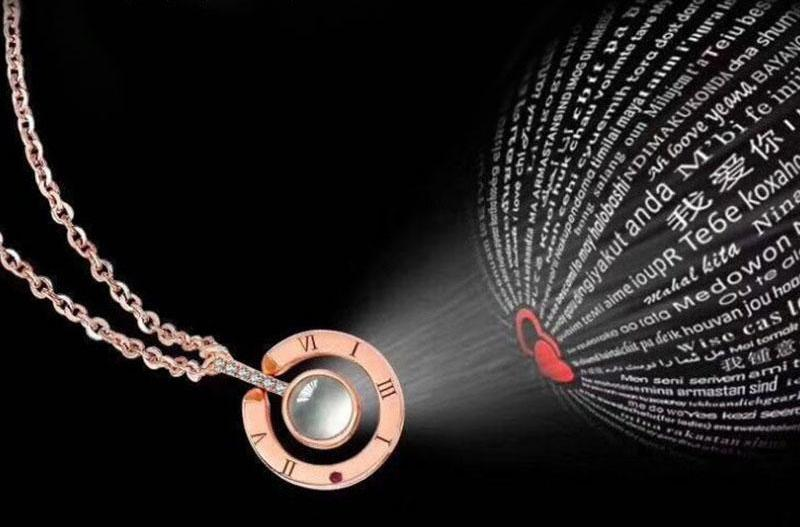 'I Love You' in 100 Languages Necklace - Miss Maliboo