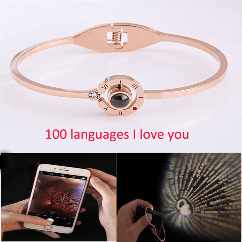 'I Love You' in 100 Languages Bracelet - Miss Maliboo