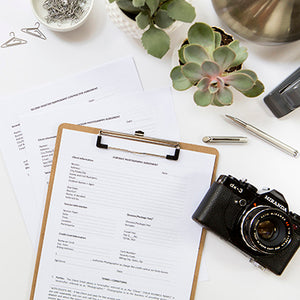 Event Photography Agreement