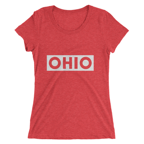 Ohio Stamp - Womens Tee