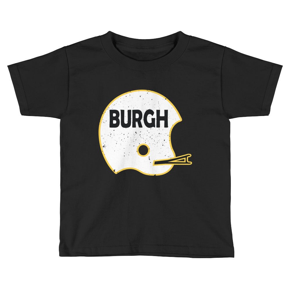 Vintage BURGH Helmet - Relaxed Fit Toddler Tee