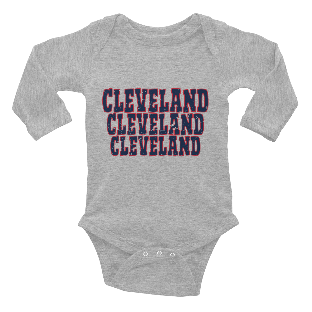 3 Cleveland - Infant Long Sleeve