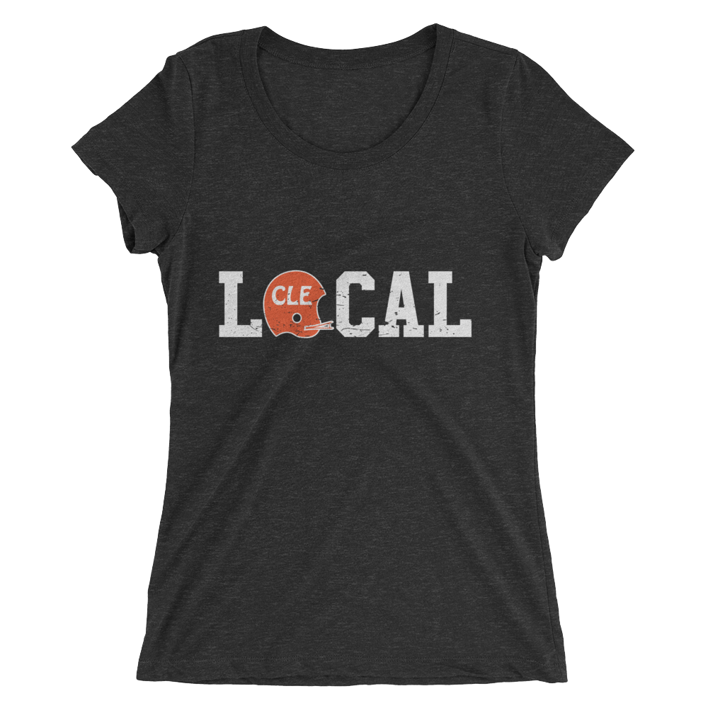 Local Cleveland Helmet - Womens Tee