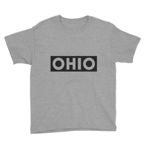 Stamped Ohio - Relaxed Fit Toddler Tee