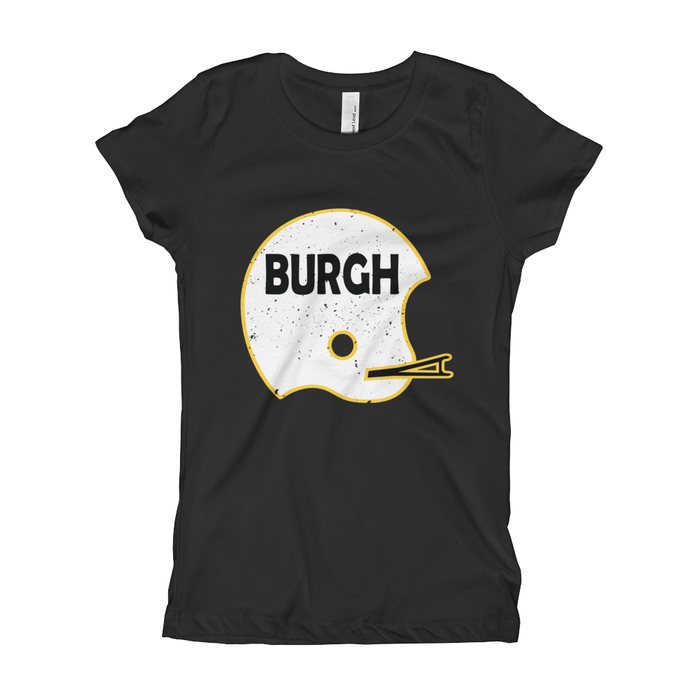 Vintage Helmet Burgh - Little Girls Tee