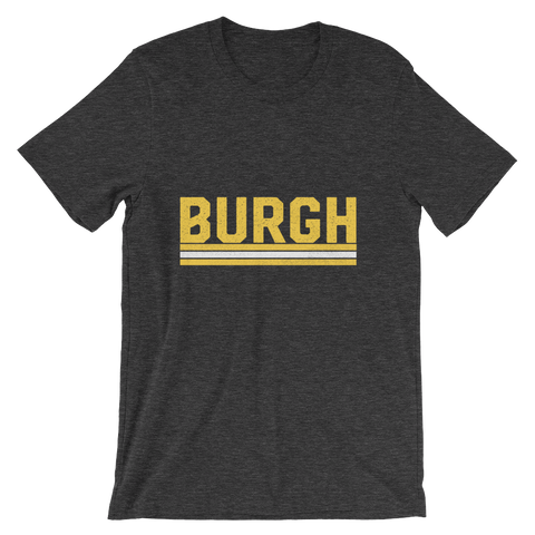BURGH Stacked - Unisex Tee