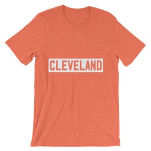 Stamped Cleveland - Unisex Tee
